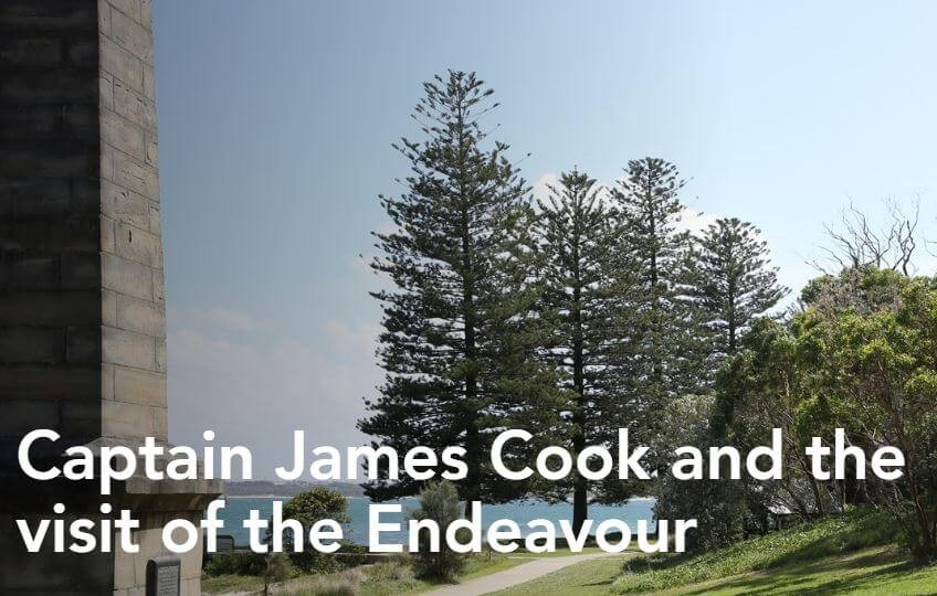 james cook at kurnell